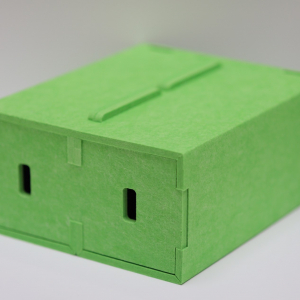 Shoewallski PET Felt Box Lime